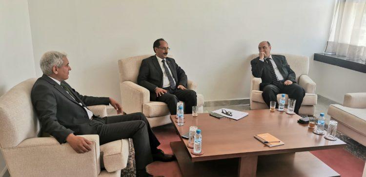 Ambassador Al-Asbahi, Moroccan official discuss bilateral relations