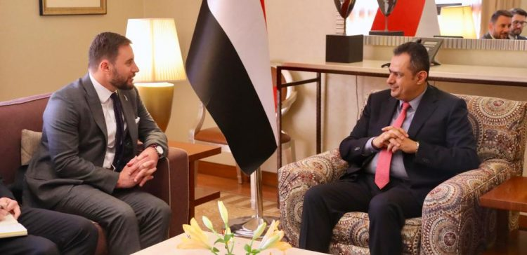 PM meets new Zealand ambassador to Yemen