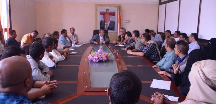 Promoting cleaning activities in Taiz discussed