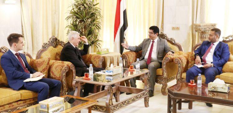 Yemen, Russia discuss political developments
