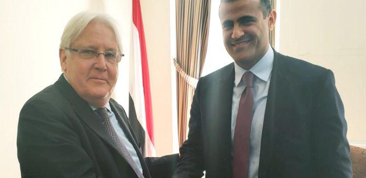 FM, UN Envoy discuss developments on implementing Hodeida agreement