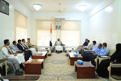 Mareb Governor, ICRC's representatives discuss humanitarian interventions