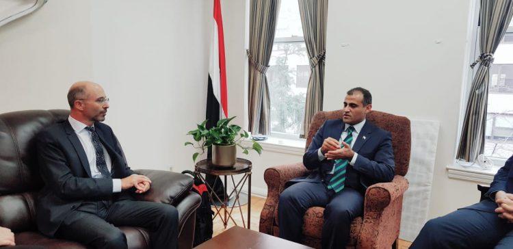 FM briefs International Crisis Group chief on Yemen's different challenges