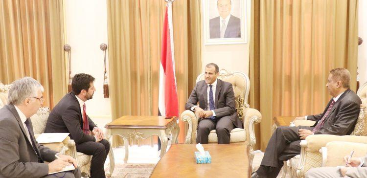 Vice FM receives credentials of Georgia's Ambassador to Yemen