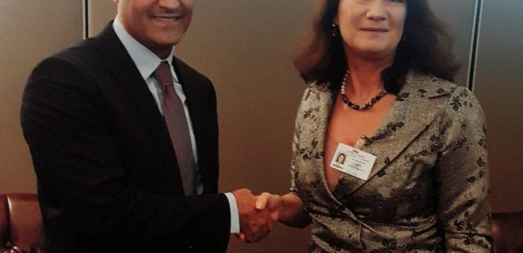al-Hadhrami , Sweden FM discuss Stockholm agreement's developments