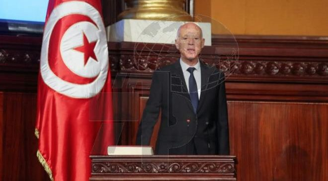 Tunisian President-elect Kais Saied sworn in