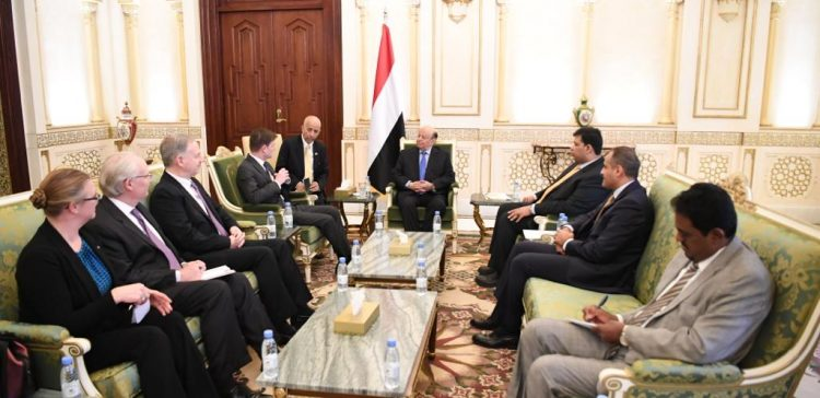 President Hadi receives US Under Secretary of State for Political Affairs