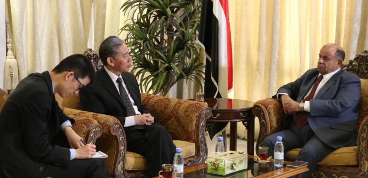 Dep. Premier praises Chinese support for Yemen
