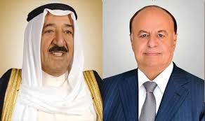 President Hadi receives congratulations from Kuwait's Emir on Riyadh Agreement