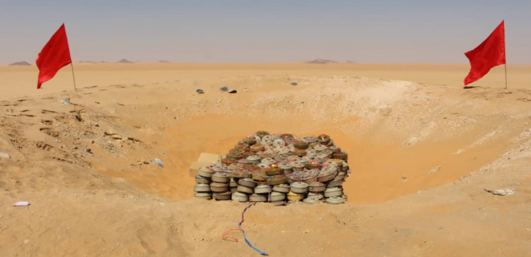 850 Houthi-laid mines destroyed in Al-Jawf