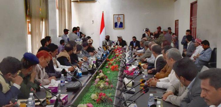 Interior Minister hails Marib security, urbanization