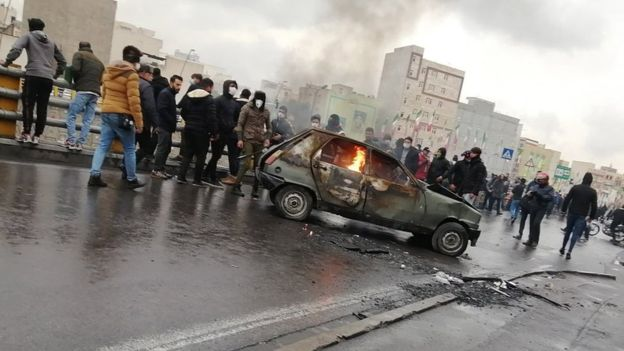 Report: Internet Restricted in Protest-Hit Iran