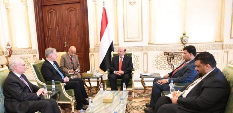 President Hadi receives US Deputy Assistant Secretary of State