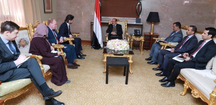Vice President praises UK support to Yemen's government