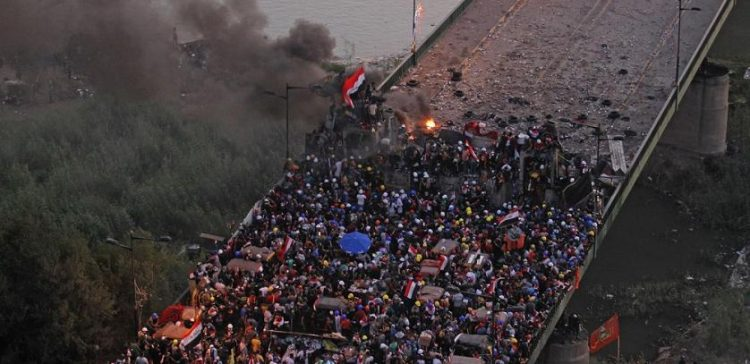 At least 5 killed as security forces fire at Iraq protesters