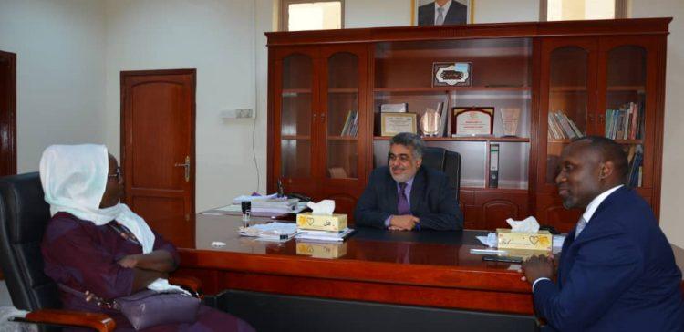 BaSoheib, Representative of UNPF discuss 2020 plan