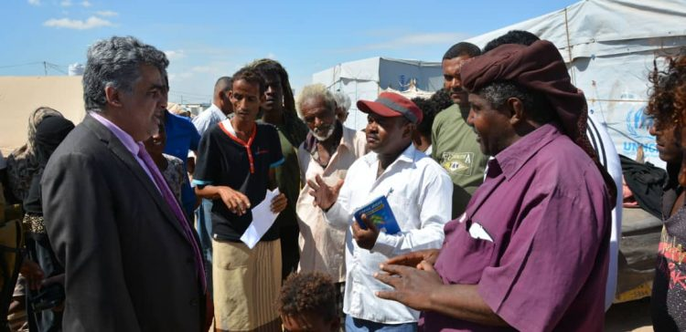 Dep. Planning Minister regrets suffering of IDPs in int'l organizations run camps