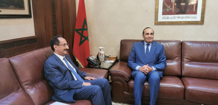 Ambassador briefs Moroccan SP on Houthi crimes against Yemen civilians