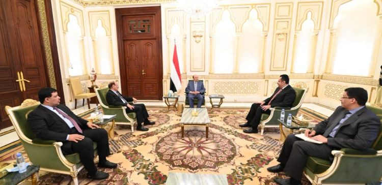 President holds meeting with his vice, prime minister
