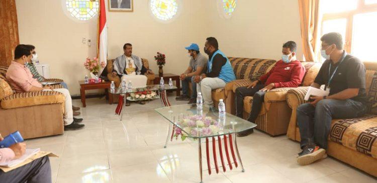 Interventions of the UNPF, UNHCR, Oxfam in Marib discussed