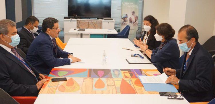 FM discusses with UN Under Sec.Gen. peace process in Yemen